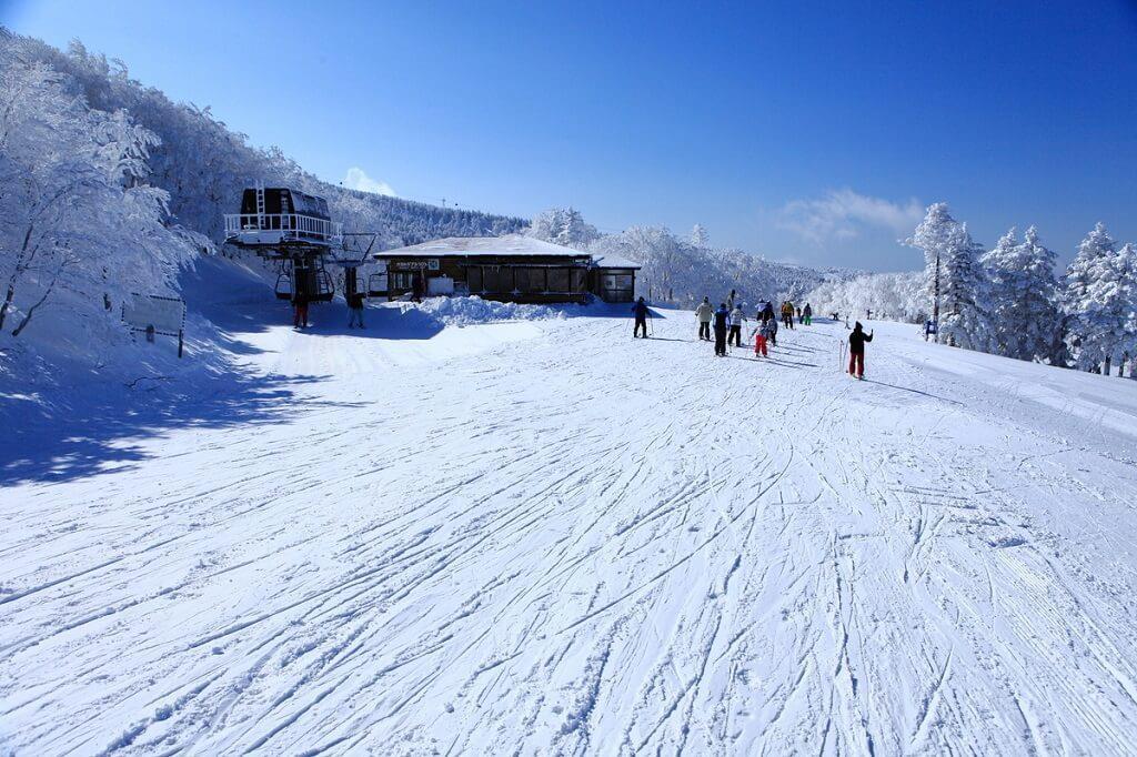 Thiên đường tuyết trắng mùa dộng Fukushima