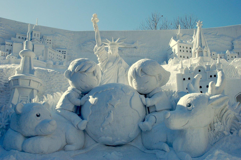 lễ hội Tuyết ở Sapporo