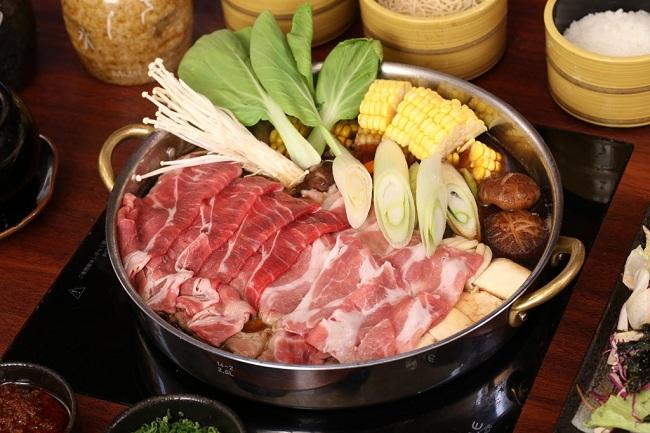 Lẩu bò nhúng - Shabu-Shabu Hot Pot