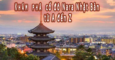 Tìm hiểu về cố đô Nara Nhật Bản từ A đến Z