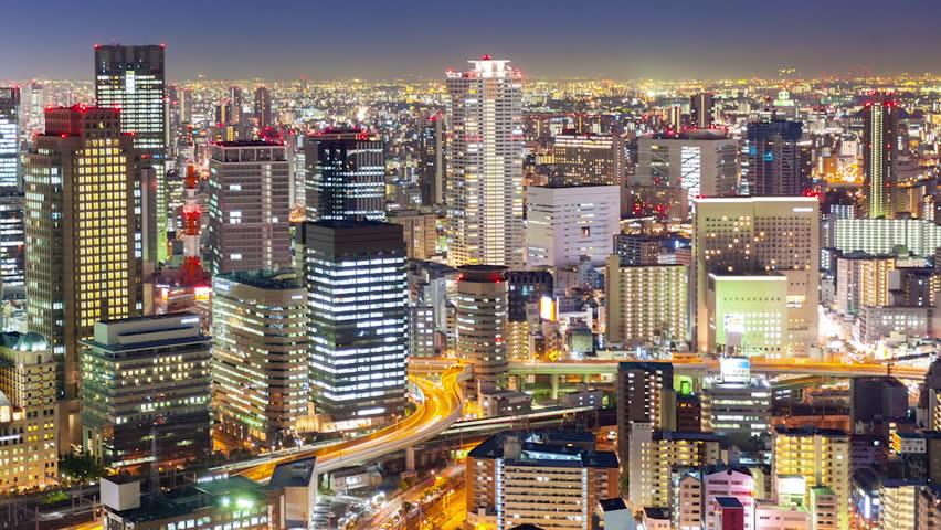 Osaka là trung tâm kinh tế lớn thứ 2 Nhật Bản