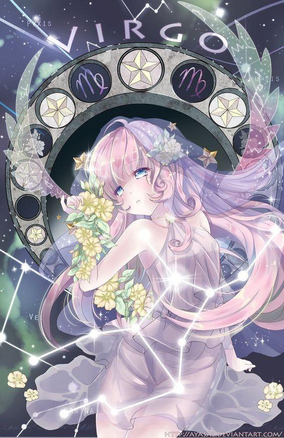 Nữ thần anime Xử Nữ