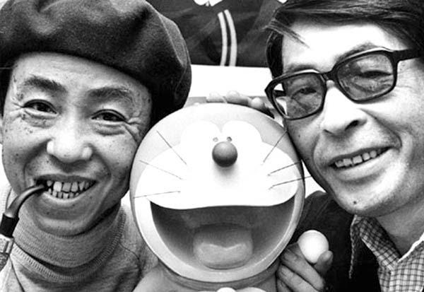 Hai tác giả của bộ manga nổi tiếng Doraemon