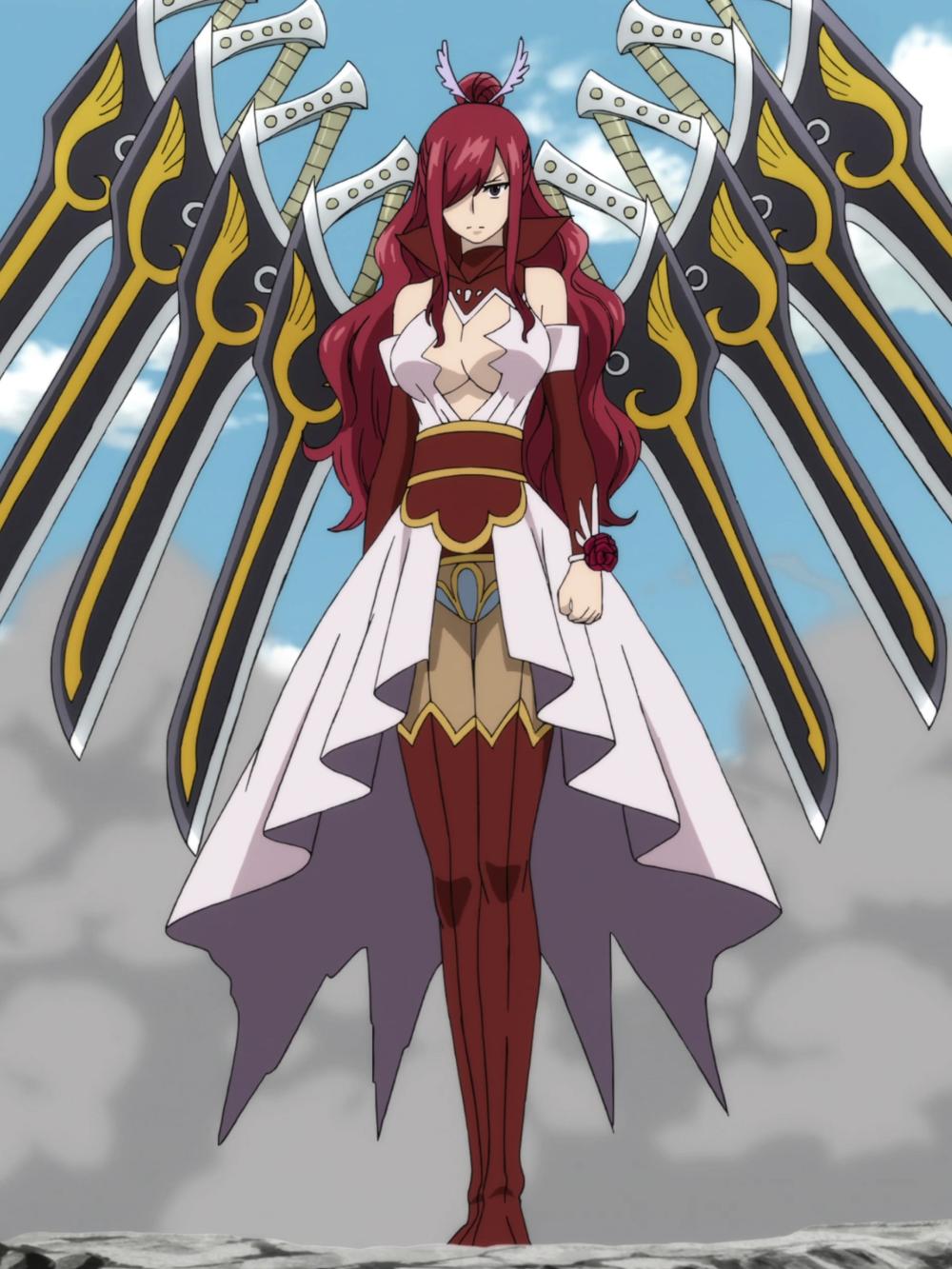 Erza Scarlet nhân vật nữ anime ngầu lòi