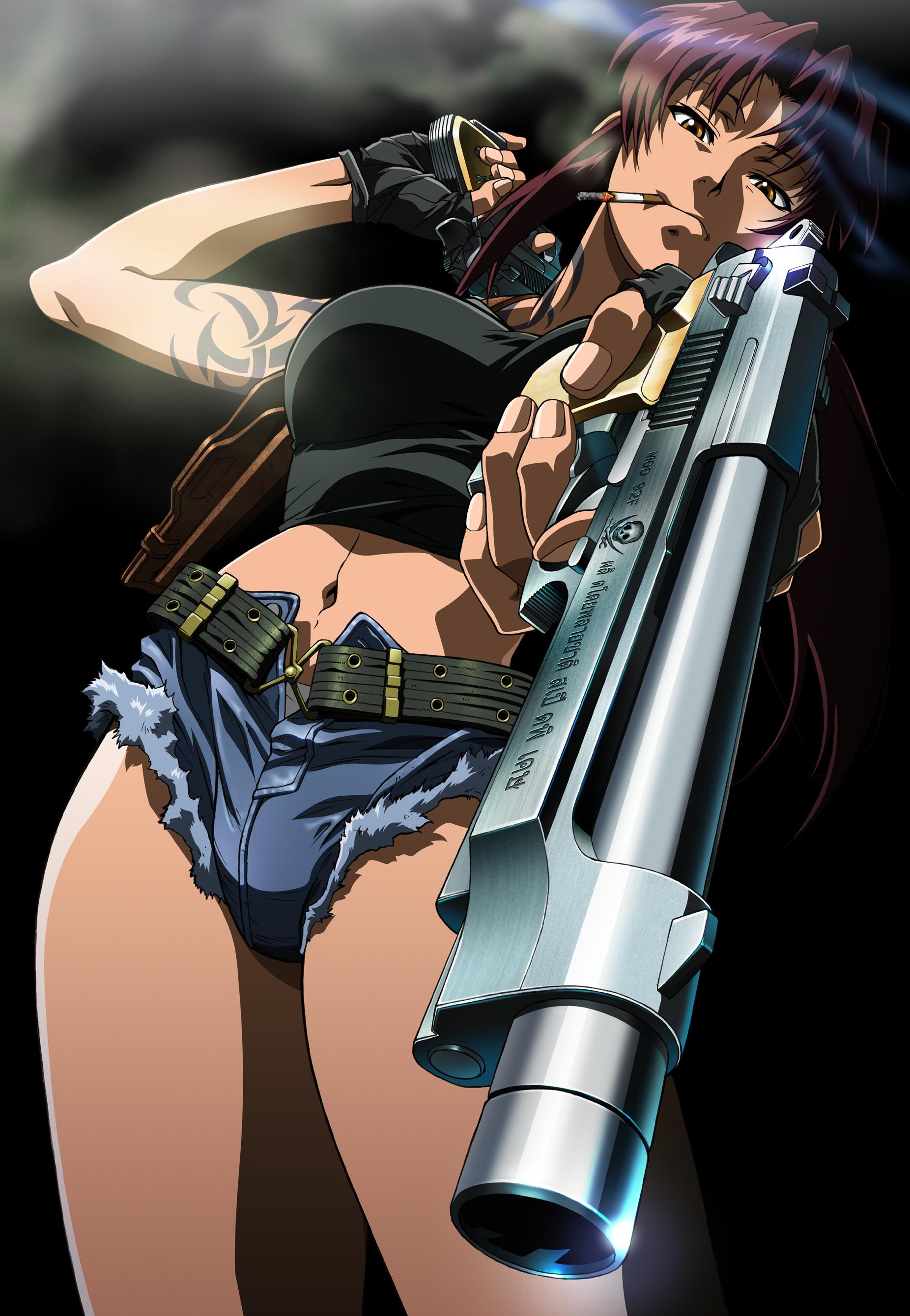 Revy là một trong những nhân vật anime nữ mạnh nhất và cũng tàn nhẫn nhất