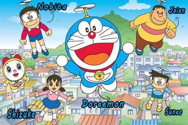 Tên các nhân vật trong Doraemon là gì