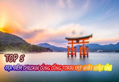 TOP 5 địa điểm checkin cùng cổng Torri đẹp nhất Nhật Bản