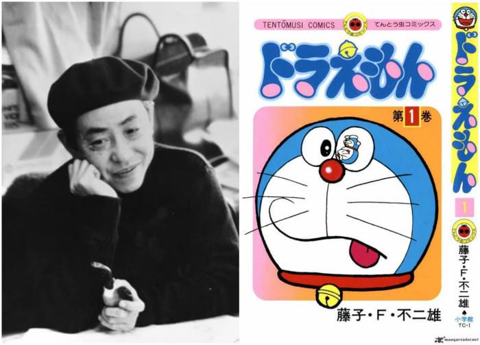 Fujiko F. Fujio, cha đẻ của bộ truyện Doraemon huyền thoại