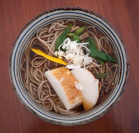 Mì soba truyền thống của người Nhật